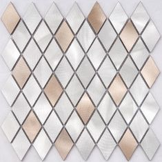 Acid - Proof Ceramic Tile Backsplash , Mix Color Strip Copper Mosaic Tiles For Home Decoration